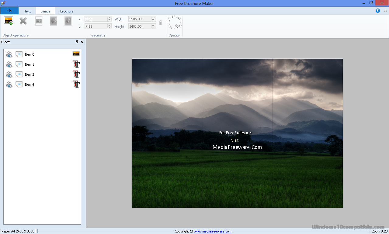 free brochure maker 1 0 free download